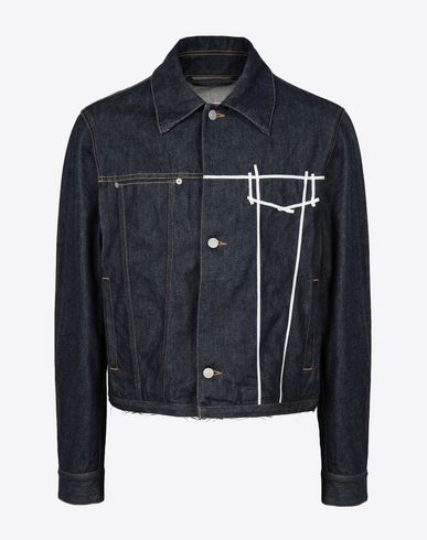 MAISON MARGIELA Jacket Man Oz origin denim jacket f