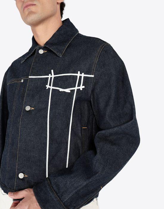 MAISON MARGIELA Oz origin denim jacket Blazer [*** pickupInStoreShippingNotGuaranteed_info ***] a