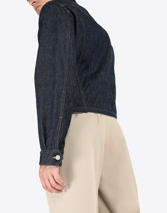 MAISON MARGIELA Oz origin denim jacket Blazer [*** pickupInStoreShippingNotGuaranteed_info ***] b