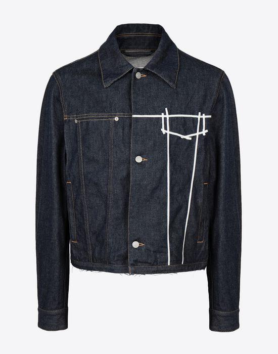 MAISON MARGIELA Oz origin denim jacket Blazer [*** pickupInStoreShippingNotGuaranteed_info ***] f