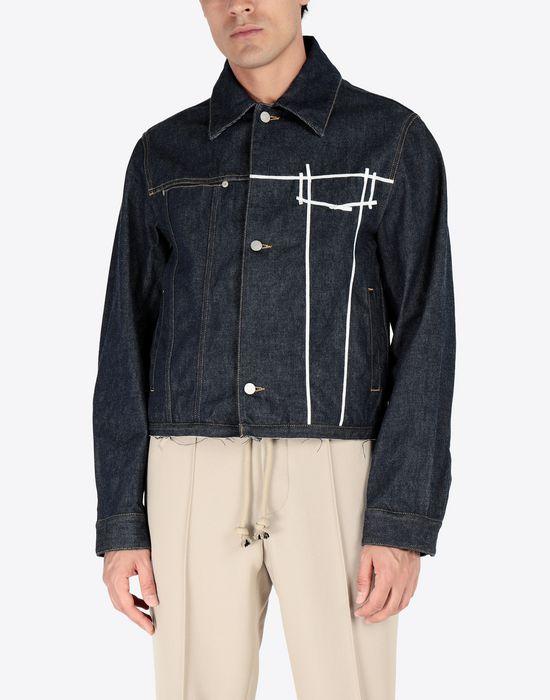 MAISON MARGIELA Oz origin denim jacket Blazer [*** pickupInStoreShippingNotGuaranteed_info ***] r
