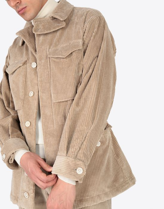 MAISON MARGIELA Chunky drawstring jacket Mid-length jacket [*** pickupInStoreShippingNotGuaranteed_info ***] a