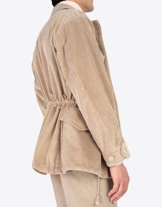 MAISON MARGIELA Chunky drawstring jacket Mid-length jacket [*** pickupInStoreShippingNotGuaranteed_info ***] b