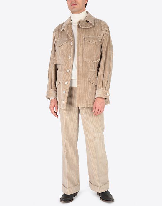 MAISON MARGIELA Chunky drawstring jacket Mid-length jacket [*** pickupInStoreShippingNotGuaranteed_info ***] d