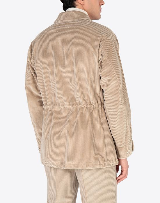 MAISON MARGIELA Chunky drawstring jacket Mid-length jacket [*** pickupInStoreShippingNotGuaranteed_info ***] e