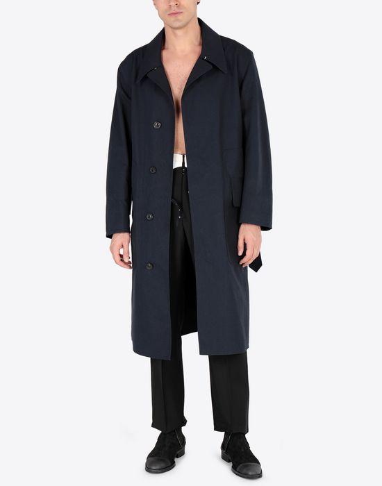 MAISON MARGIELA Midnight blue 'Replica' trench coat Raincoat [*** pickupInStoreShippingNotGuaranteed_info ***] d