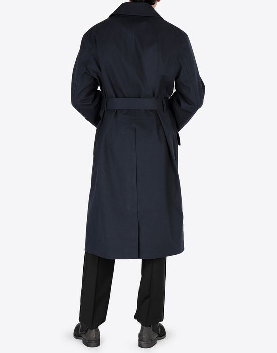 MAISON MARGIELA Midnight blue 'Replica' trench coat Raincoat [*** pickupInStoreShippingNotGuaranteed_info ***] e