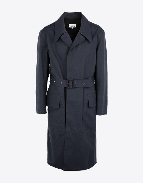 MAISON MARGIELA Midnight blue 'Replica' trench coat Raincoat [*** pickupInStoreShippingNotGuaranteed_info ***] f