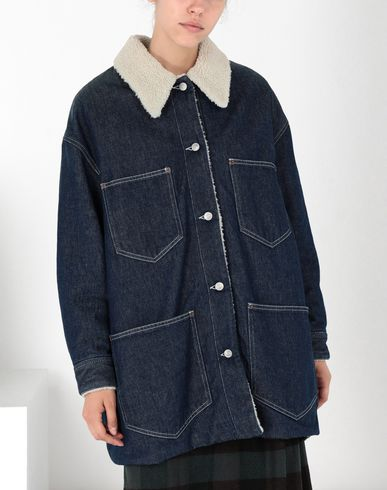 MM6 MAISON MARGIELA Mid-length jacket [*** pickupInStoreShipping_info ***] Oversized denim jacket f