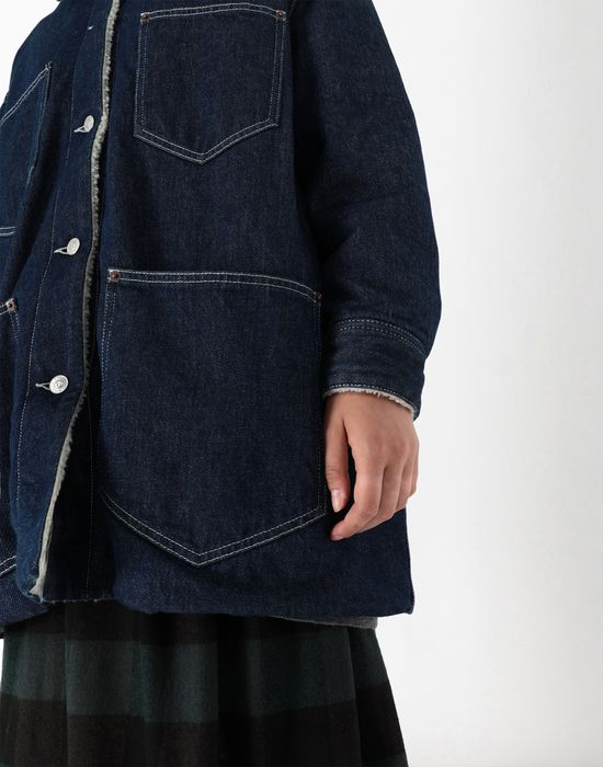 MM6 MAISON MARGIELA Oversized denim jacket Mid-length jacket [*** pickupInStoreShipping_info ***] a