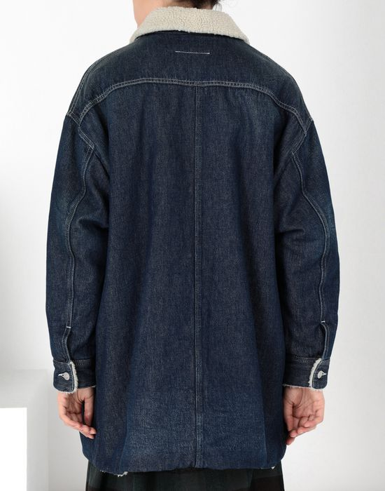MM6 MAISON MARGIELA Oversized denim jacket Mid-length jacket [*** pickupInStoreShipping_info ***] d