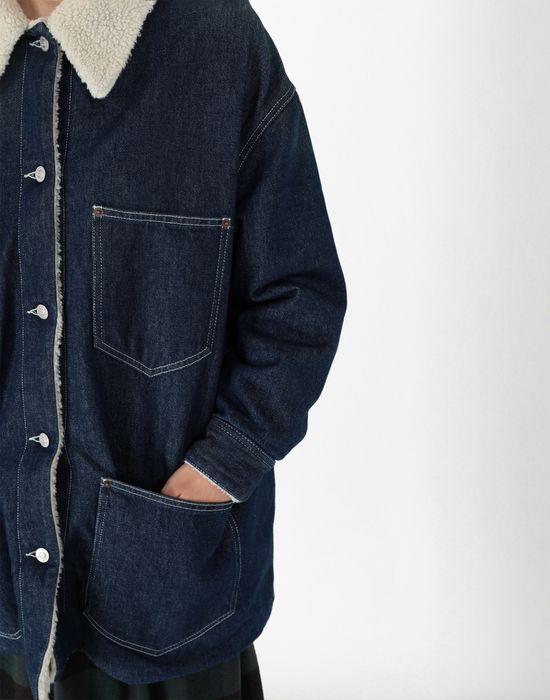 MM6 MAISON MARGIELA Oversized denim jacket Mid-length jacket [*** pickupInStoreShipping_info ***] e