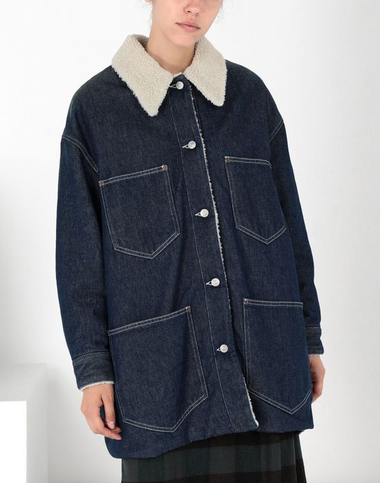MM6 MAISON MARGIELA Oversized denim jacket Mid-length jacket [*** pickupInStoreShipping_info ***] f