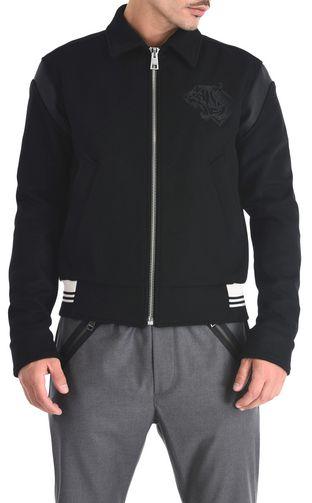 JUST CAVALLI Leather Jacket Man Stardust leather jacket f