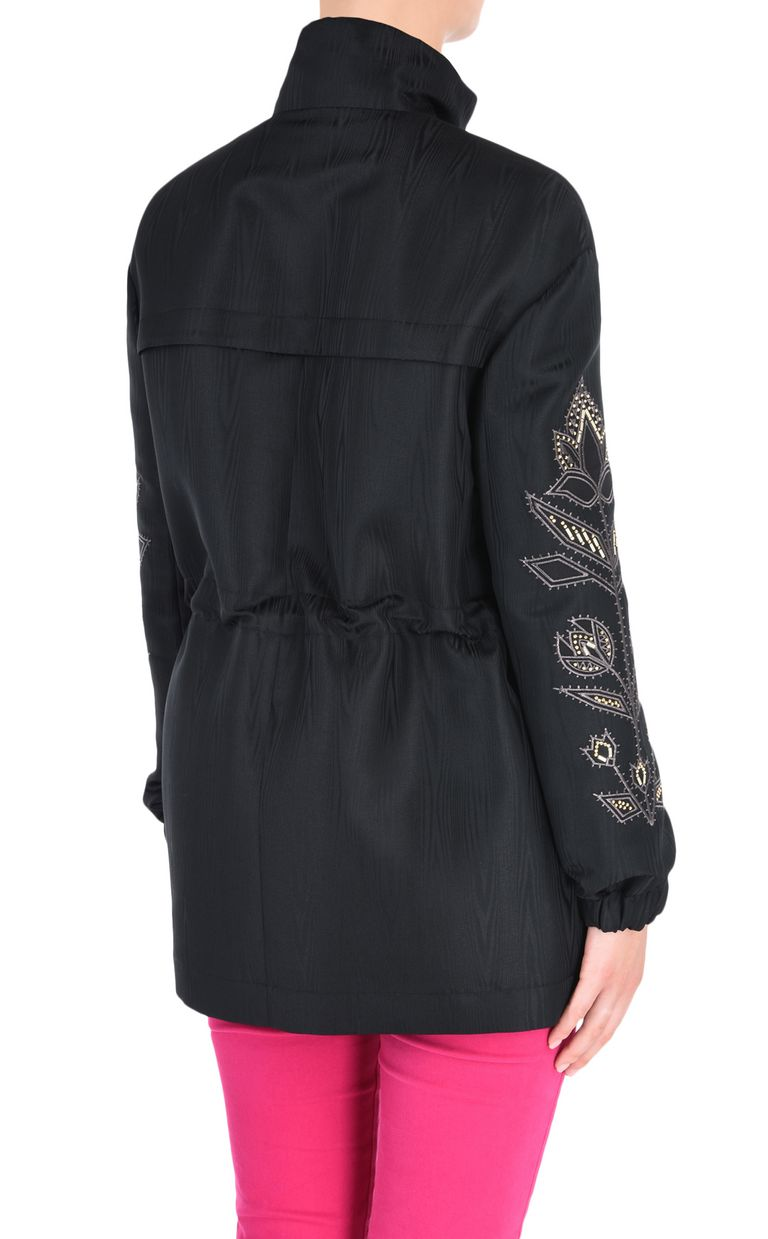 JUST CAVALLI Parka with embroidery details Jacket Woman d