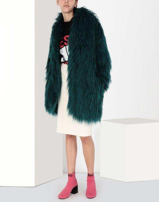 MM6 MAISON MARGIELA Reversible faux fur gilet Blazer [*** pickupInStoreShipping_info ***] r