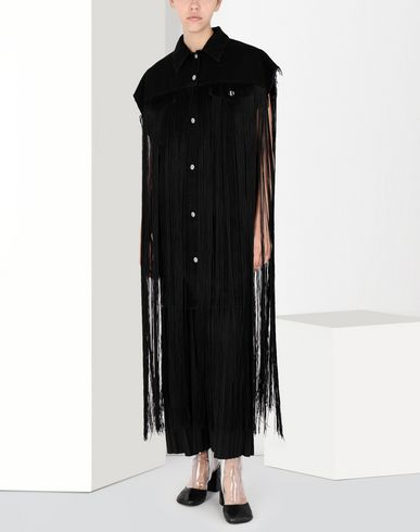 MM6 MAISON MARGIELA Vest Woman Fringed denim gilet f