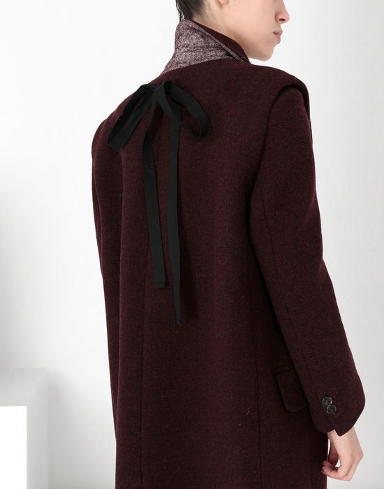 MM6 MAISON MARGIELA Multi-way detachable wool coat Coat [*** pickupInStoreShipping_info ***] a