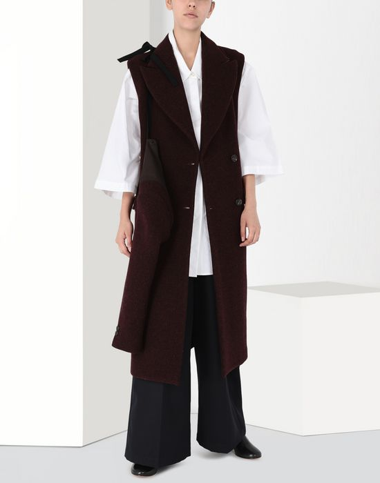 MM6 MAISON MARGIELA Multi-way detachable wool coat Coat [*** pickupInStoreShipping_info ***] r