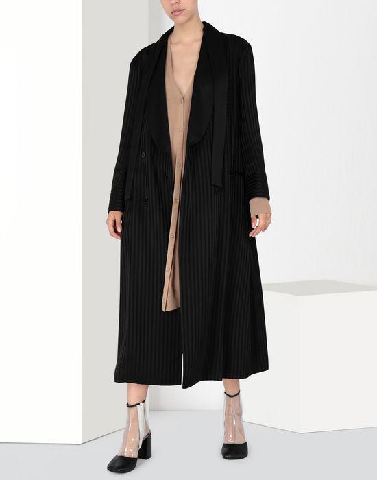 MM6 MAISON MARGIELA Long pinstripe coat Coat [*** pickupInStoreShipping_info ***] f