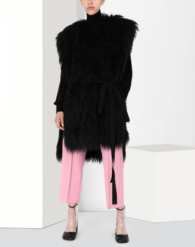 MM6 MAISON MARGIELA Vest [*** pickupInStoreShipping_info ***] Reversible faux fur gilet f