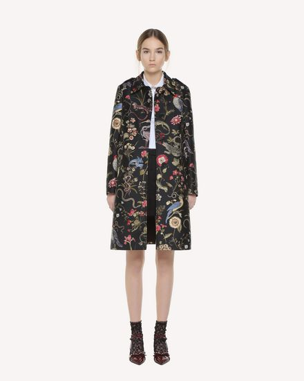 REDValentino Coat Woman QR3CA1N53T5 0NO f