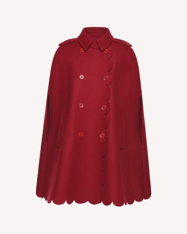 REDValentino QR3CG0603SH C61 Cloak - Cape Woman a