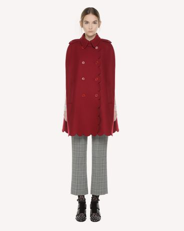 REDValentino QR3CG0603SH C61 Cloak - Cape Woman f