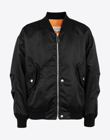 MAISON MARGIELA Jacket Man Two-tone bomber jacket f