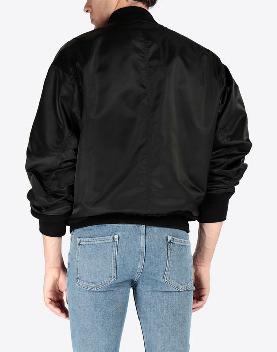 MAISON MARGIELA Two-tone bomber jacket Jacket [*** pickupInStoreShippingNotGuaranteed_info ***] d