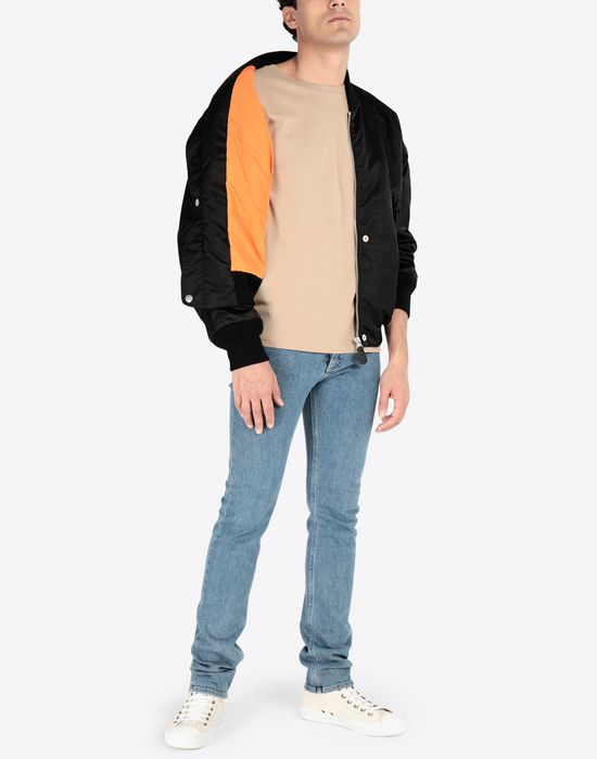 MAISON MARGIELA Two-tone bomber jacket Jacket [*** pickupInStoreShippingNotGuaranteed_info ***] e