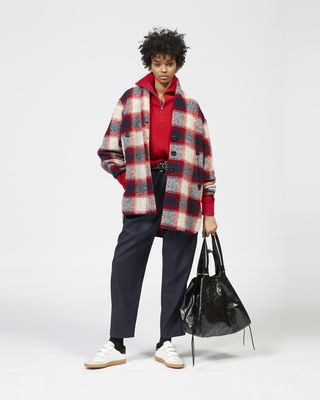 GABRIE checked coat