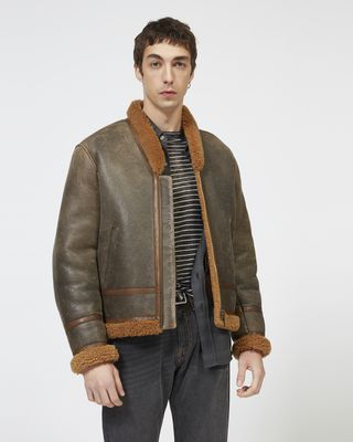 ANDERS shearling jacket