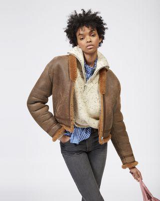 ISABEL MARANT ÉTOILE JACKET Woman ADDY jacket r