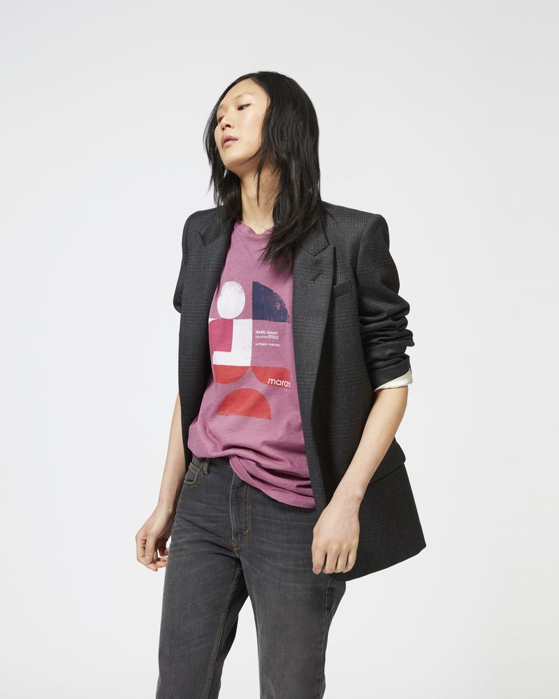 IGORA flannel jacket ISABEL MARANT ÉTOILE