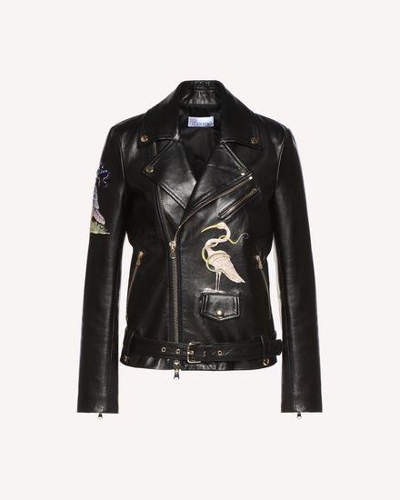 REDValentino Jacket Woman QR3NA02V3V5 0NO a