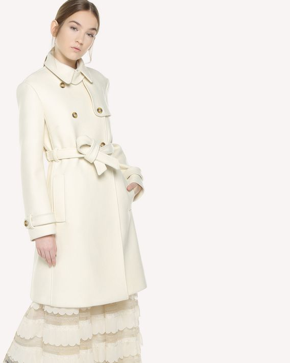 REDValentino Armurè cloth trench coat