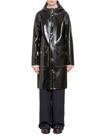 Marni Stutterheim raincoat for Marni in shiny rubberized cotton Man