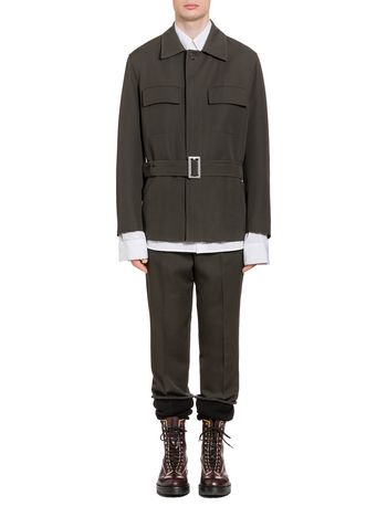 Marni Jacket in wool gabardine Man