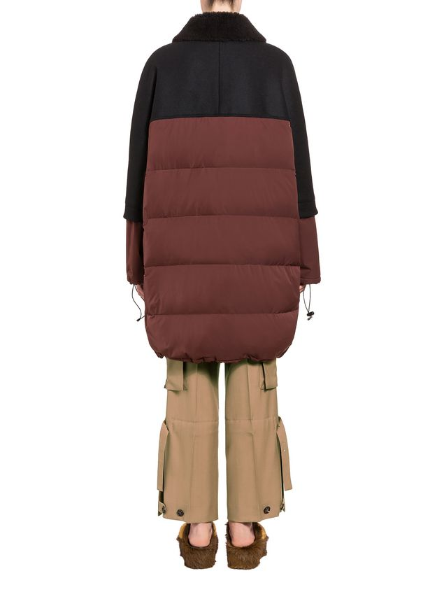 Marni Down jacket in waterproof polyester Woman