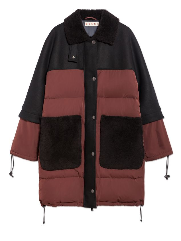 Marni Down jacket in waterproof polyester Woman - 2