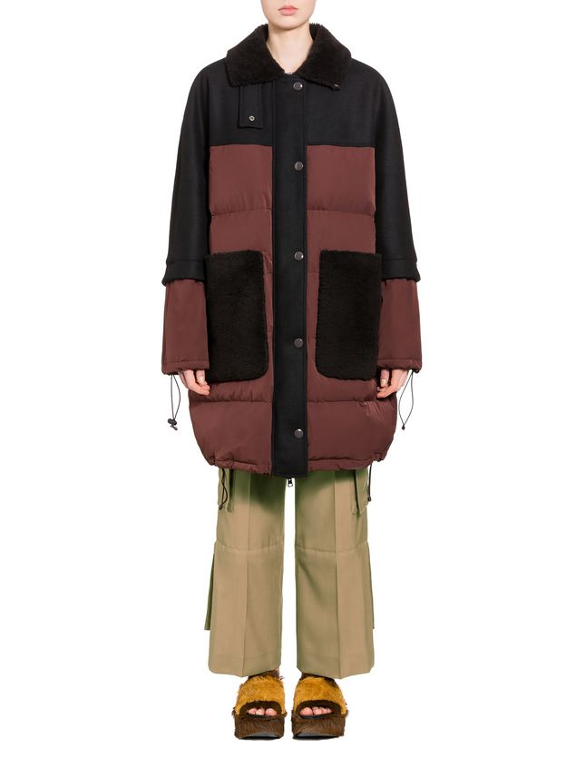 Marni Down jacket in waterproof polyester Woman - 1