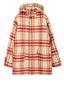 Marni Hooded plaid coat in double wool Man - 2