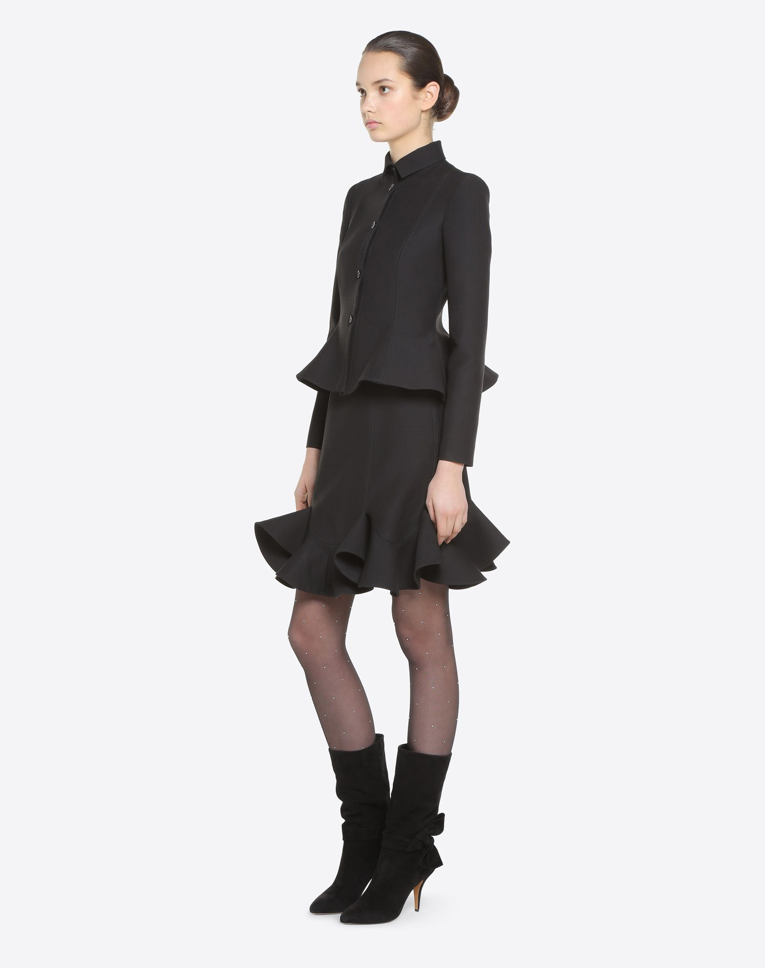 VALENTINO Couture 绉绸夹克 夹克 D d
