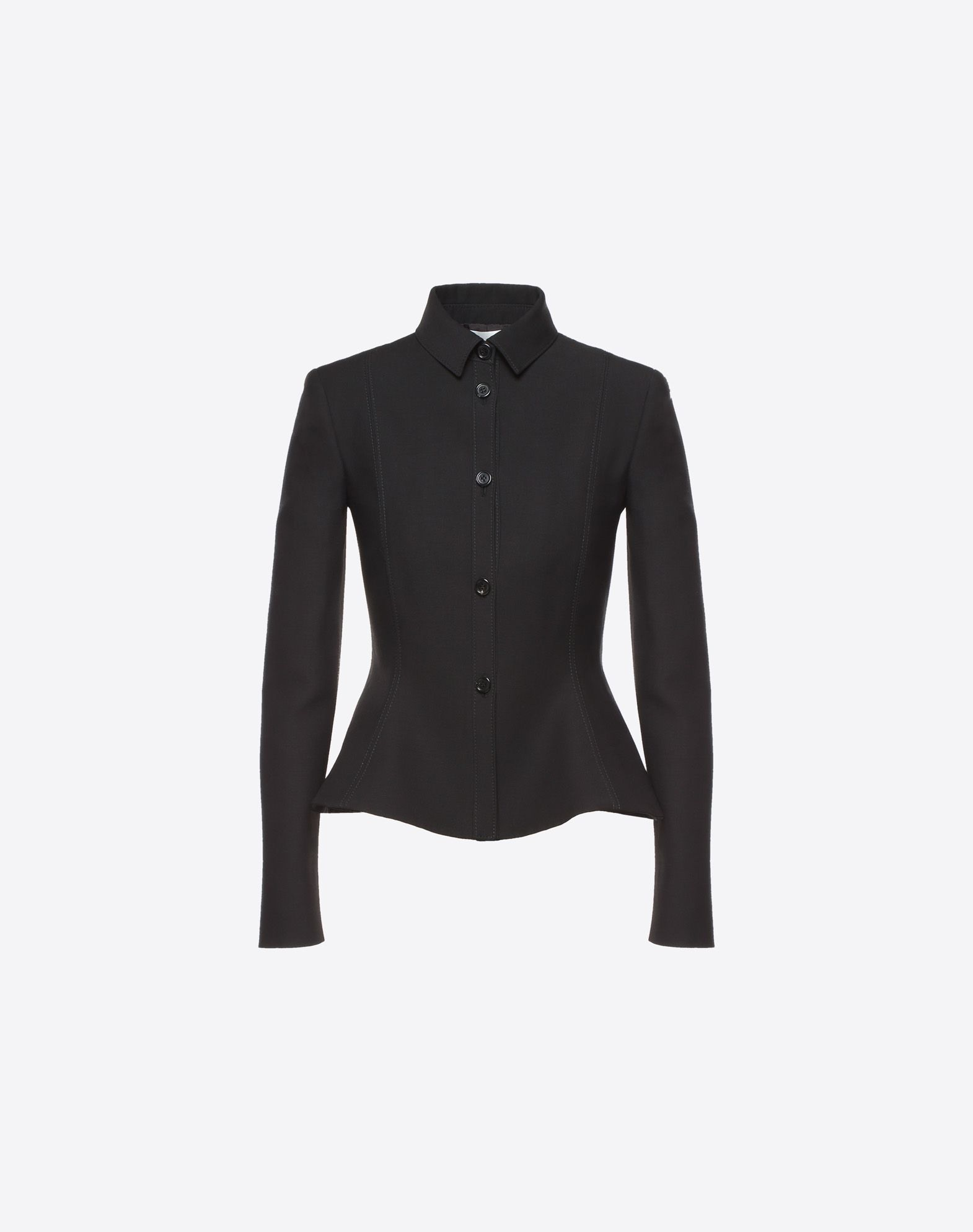 VALENTINO Crepe Couture Jacket JACKET D f