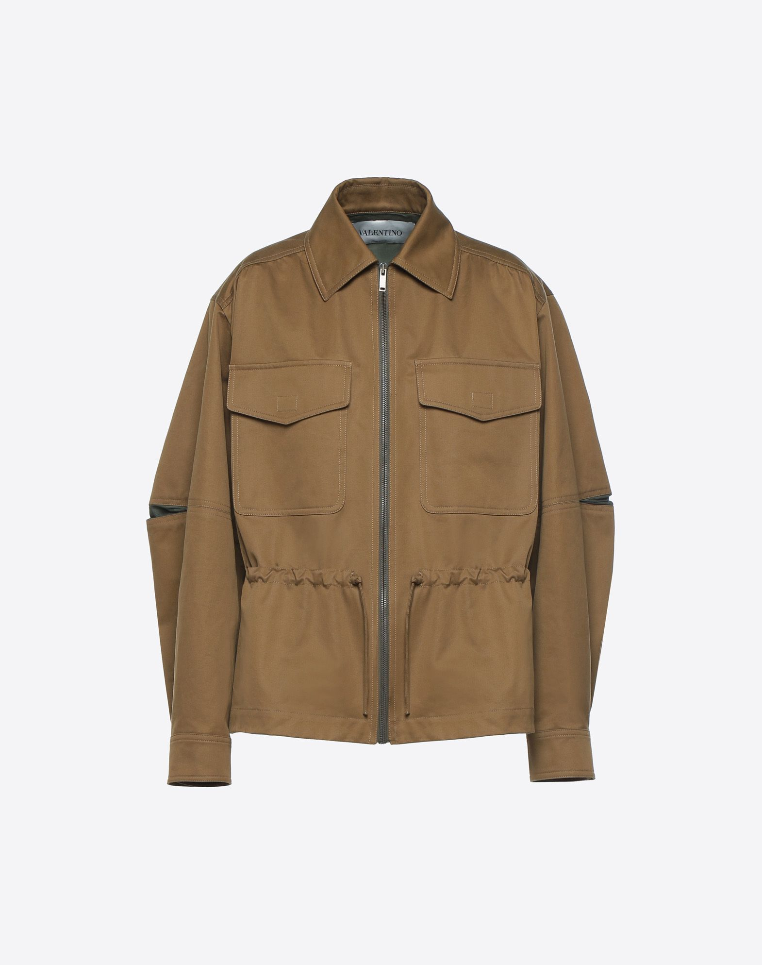 VALENTINO Valentino Waves Peacoat JACKET D f