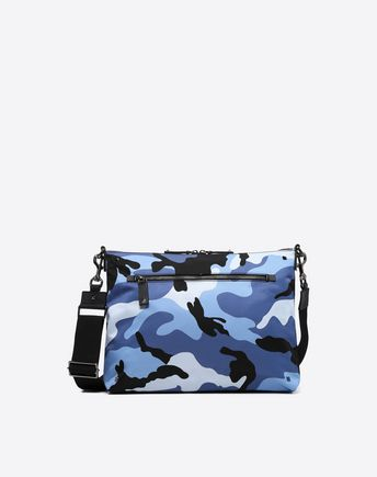VALENTINO GARAVANI UOMO CROSS BODY BAG U Camouflage Messenger Bag f
