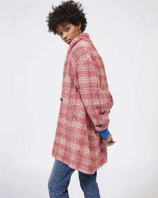 ISABEL MARANT ÉTOILE COAT Woman EBRIE wool coat r