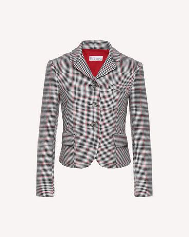 REDValentino QR3CE1K53SF 0NO Jacket Woman a