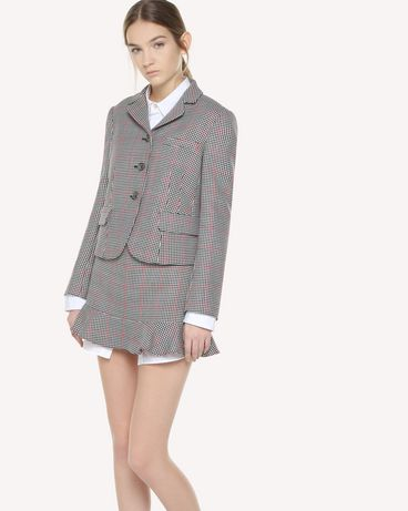 REDValentino QR3CE1K53SF 0NO Jacket Woman d